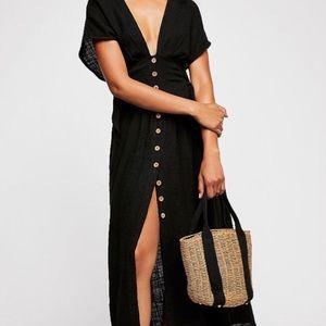 Free People Jacinta Midi Dress